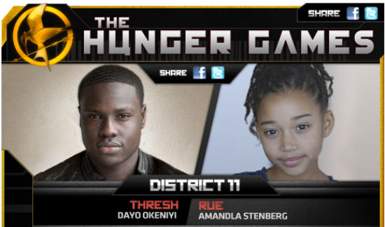 Hunger Game's Rue attacked by racist slurs (1/4)