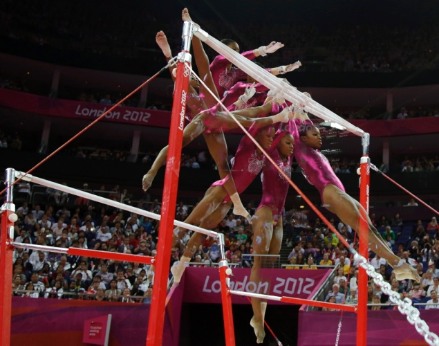 Gabrielle Douglas' Olympic Victory makes African American History  (1/5)