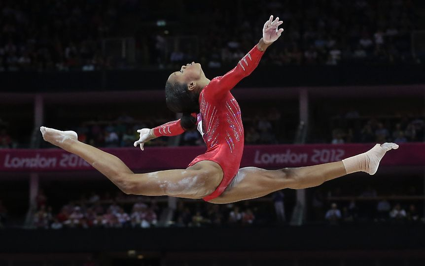 Gabrielle Douglas' Olympic Victory makes African American History  (2/5)
