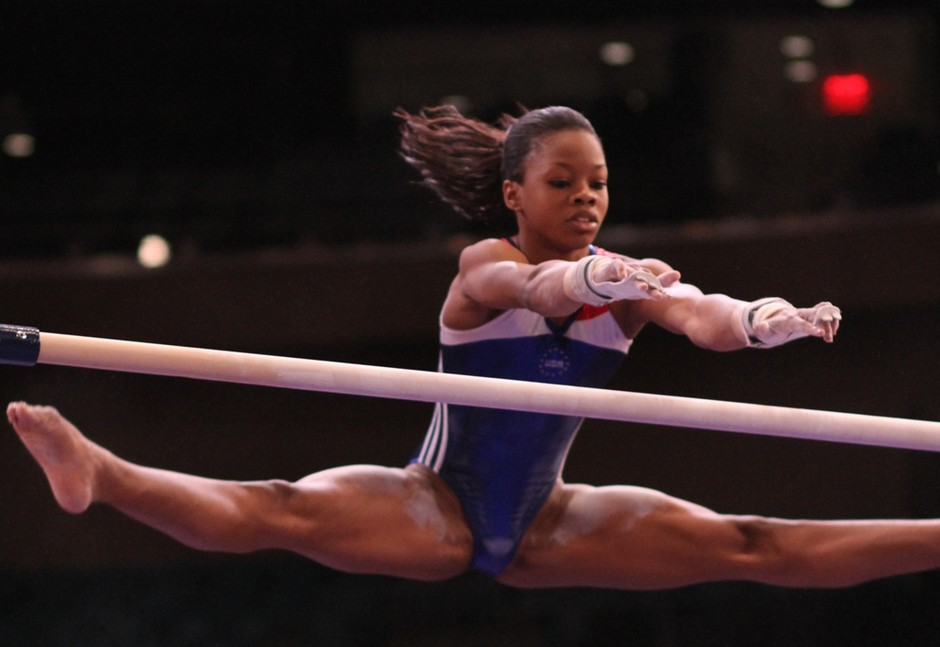 Gabrielle Douglas' Olympic Victory makes African American History  (4/5)
