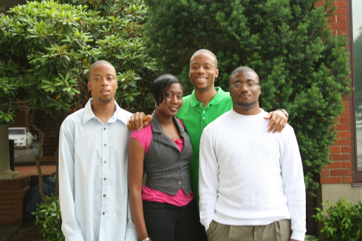 My brothers and me