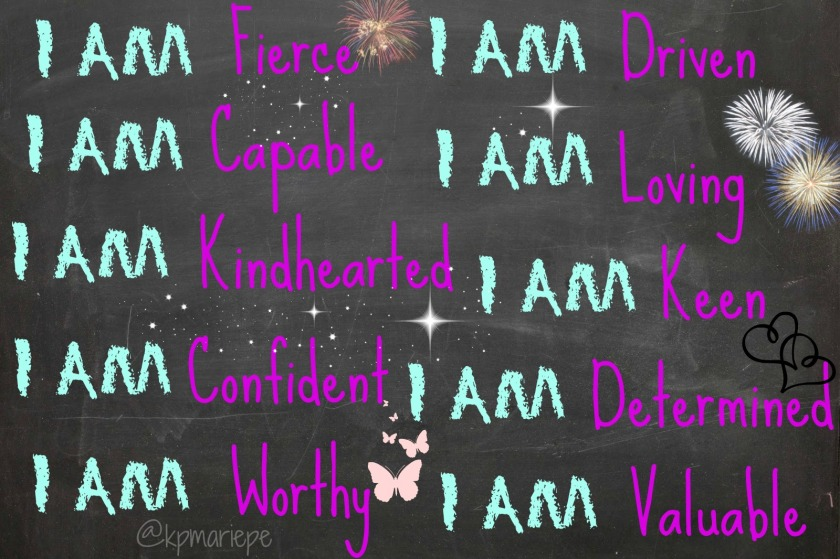 I am worthy and valuable!