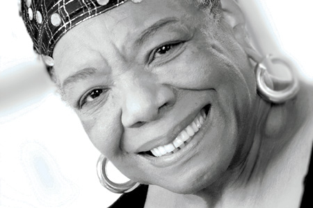Poet and orator Dr. Maya Angelou died May 28, 2014 in her home in Winston Salem North Carolina.  She will forever be remembered for her wisdom and inspiring spirit that led others to be someone else's rainbow in the clouds.